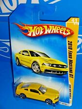 Hot Wheels 2009 New Models #41 2010 Ford Mustang GT Yellow w/ PR5s