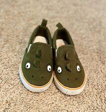 NWT Gymboree Boys Baby Crib shoes Dinosaur Dino and Roar 01,02,03,04