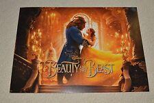 Disney's Beauty and the Beast Live Action Lithograph Set 2017 4 PC Set Emma Dan