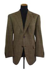 FERAUD Blazer Giacca tg. 54S 27 Marone Quadretti Lana Cachemire size 44S UK D63