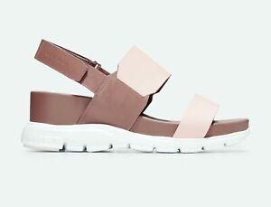150$ COLE HAAN ZERØGRAND Wedge Sandal, Sizes 8.5, 9 & 9.5