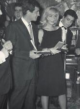 MONICA VITTI ET J-P BELMONDO, TIRAGE ARGENTIQUE ORIGINAL 1960