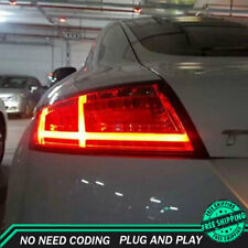 New For Audi TT LED Taillights 2006-2013 Dark Or Red LED Rear Lamps Quality