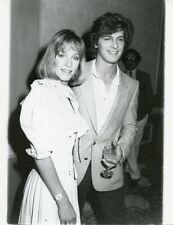 JENNIFER COOKE JEFF YAGHER V THE VISITORS ORIGINAL 1985 PRESS PHOTO
