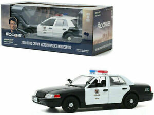 Greenlight 1/24 The Rookie LAPD 2008 Ford Crown Victoria Police Car 84111