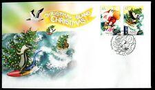 2018 Christmas Island Christmas (Gummed Stamps) FDC - Christmas Island 6798 PMK