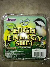 2 pack Garden Chic High Energy Suet for wild birds Exp:2022