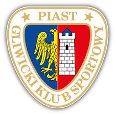 GKS Piast FC Poland Soccer Football Car Bumper Sticker Decal 5'' x 5''