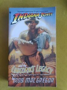 Indiana Jones And The Unicorn's Legacy Paperback like New Never Been Read!