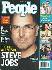 People magazine Steve Jobs Apple Elizabeth Taylor jewelry Ryan Reynolds
