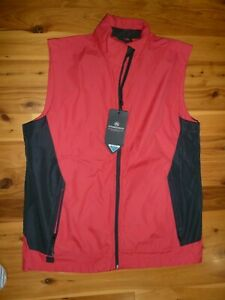 UNISEX STORMTECH PERFORMANCE DWR VEST~~SIZE LARGE~~STYLE SV-1~~RED/BLACK~~NWT