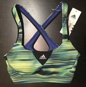 BNWT Adidas GT Supernova Q3 Womens Climacool Running Sports Bra Support Top