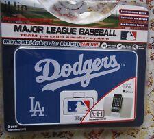 A Mlb Los Angeles Dodgers Portable Speaker System~With I Dock speaker