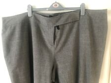Evans Essence Grey Bootcut Pants - UK 30