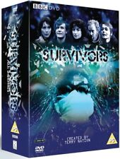 SURVIVORS (1975-1977): 1-3 COMPLETE Classic British TV Seasons Series NEW DVD UK