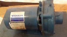 New Weinman 1 Hp Centrifugal Pump 1 12 X 2 Port 200 230460 Vac 6ae 10pn14 Hw