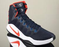 Nike Hyperdunk 2016 USA men basketball shoes NEW obsidian crimson blue