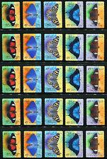 1998 Butterflies 5 Sets CV £22.50 Fine Used WHOLESALE SG1815/19 Australia Stamps
