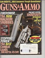Magazine GUNS & AMMO July 1995 !!! HECKLER & KOCH USP .45 ACP Auto PISTOL !!!