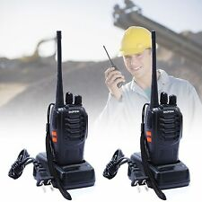 2PCS Baofeng BF-888S Walkie Talkie UHF 400-470MHZ 2-Way Radio 16CH 5W Long Range