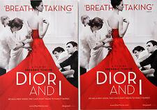3 X DIOR AND I FILM POSTCARDS - FREDERIC TCHENG - CHRISTIAN DIOR