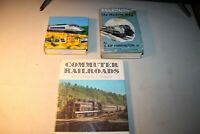 Collection of Railroading Books, Trains 1001 Photos, Railroading The Modern Way,