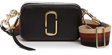 BNWT Marc Jacobs Women's Snapshot Cross Body Bag - Black/Chocolate