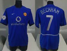 Manchester United 2002 Champions BECKHAM football shirt soccer jersey Nike M Men