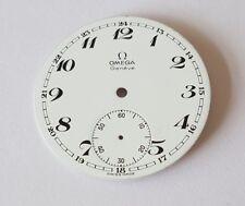 Omega Pocket Watch Dial 39mm Approx Enamel