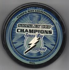 Tampa Bay Lightning 2004 NHL Stanley Cup Champions Hockey Puck + FREE Cube