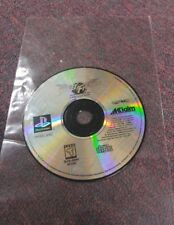 Street Fighter The Movie  PS1  ( PlayStation 1 Game, 1995) .... Not Working!