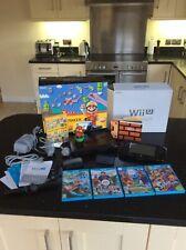 Nintendo Mario Maker Wii U Bundle Limited Edition -  Amiibo & 4 Extra Games