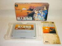 MUJINTO MONOGATARI Uninhabited Island Super Famicom Nintendo SFC sf