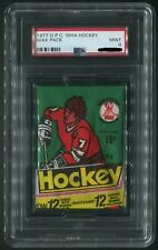 1977/78 O-Pee-Chee WHA Hockey Wax Pack PSA 9 (MINT)