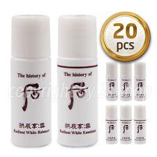 [The History Of Whoo] Seol Radiant White Balancer Emulsion Set 20pcs