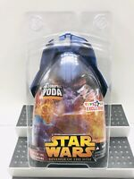 Star Wars Revenge Of The Sith - Holographic Yoda - Toys R Us Exclusive 2005 MOC