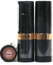 3 Ct Revlon 0.15 Oz Super Lustrous Matte 050 Superstar Brown Moisture Lipstick