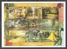 IMPRESSIONIST PAINTINGS 2000 Imperf. sheet  of 9 stamps MNH
