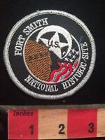 Color Vers. 2 (Black) - FORT SMITH NATIONAL HISTORIC SITE Arkansas Patch 79I2