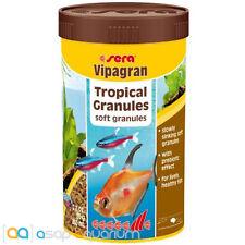 Fish Food Sera Vipagran 250 mL Tropical Soft Granules FAST FREE USA SHIPPING