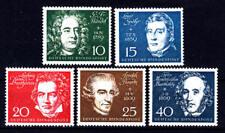 BRD/Bund - Michel Nr. 315-319 postfrisch/** (Einzelmarken aus Block 2)