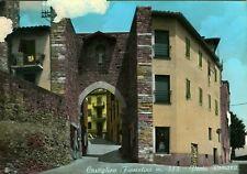 Castiglion Fiorentino (Arezzo) - Porta Romana - Viaggiata 1967 (Acquerellata)