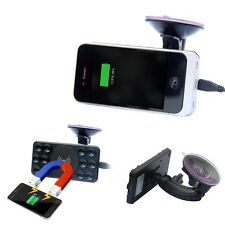 Qi Wireless Car Charger Transmitter+ Holder Mount for Samsung Galaxy S7 S6 Edge
