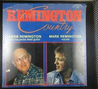 Herb Remington, Mark Remington ‎– Remington Country (Longhorn Records ‎– LH 2005
