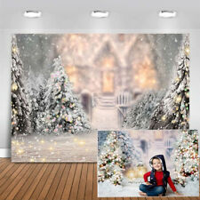 Christmas Tree Christmas Background Cloth Photo Studio Backdrop Decoration