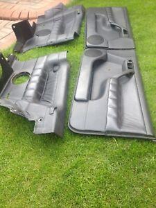 Mk3 Golf GTI 16v  3dr  Leather front plus rear black door cards Seats .