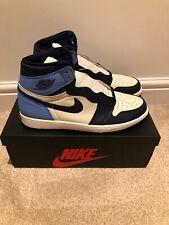 Nike Air Jordan 1 Retro High OG Obsidian UNC UK 12 US 13