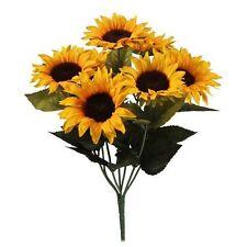 Sunflower Faux Silk Bush Dried & Artificial Flowers