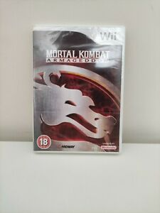 New & Sealed - Mortal Kombat Armageddon Nintendo Wii