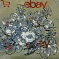10 to 50 Janome Sewing Machines Plastic Bobbins For Many Models Memory Craft***
